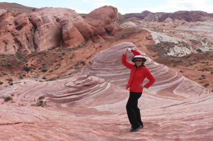 Christmas Valley of Fire